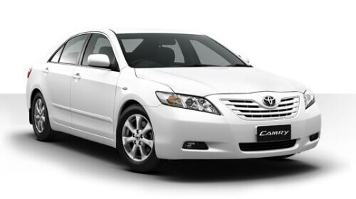 Hire Camry car in Goa