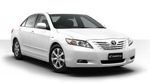Hire Camry car in Goa